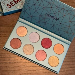 Colourpop Semi Precious Eye Shadow Palette